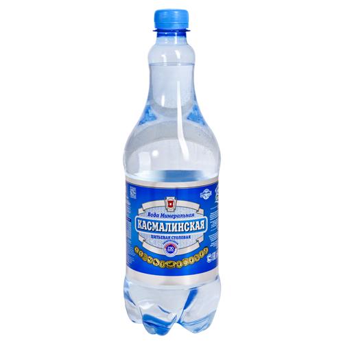 минеральная вода Касмалинская 1 литр газированная